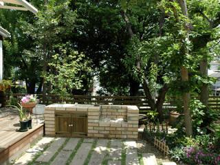 町田市・N邸: 有限会社イエナランドスケープが手掛けた庭です。
