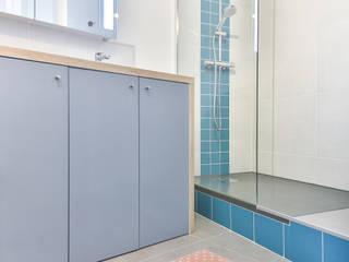 Little Loft Boulogne 43m² Salle de bain industrielle par La Decorruptible Industriel