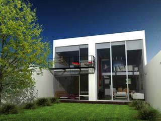 CoRREA Arquitectos Giardino moderno