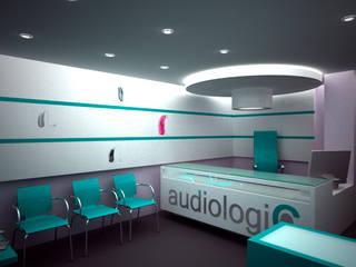 Audiologic Espacios comerciales de estilo moderno de Js Moderno