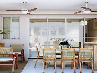 Apartamento em Campinas Varandas, alpendres e terraços modernos por Alessandra Duque Arquitetura & Interiores Moderno