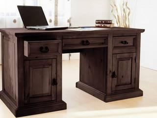Schreibtisch Hacienda Pinie massiv Bürotisch Arbeitstisch Computertisch Tisch:   von Moebelkultura.DE