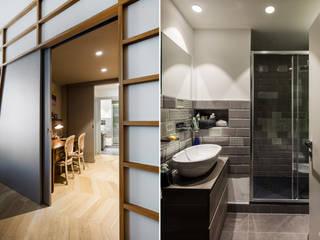 3.8.1 Bagno moderno di Principioattivo Architecture Group Srl Moderno