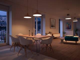 Salas de estar escandinavas por ERC Escandinavo
