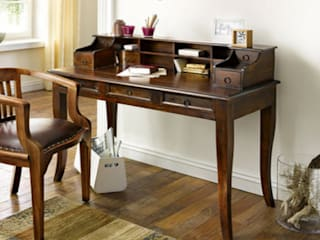"Büro Sessel ""Cube""  Echt Leder  massiv Holz Palisander:   von Moebelkultura.DE"