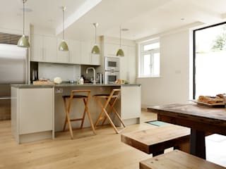 KITCHENS: THE AUBREY Cue & Co of London Modern Mutfak