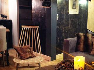 现代客厅設計點子、靈感 & 圖片 根據 Atelier JP Bouvee 現代風