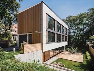 House M Modern houses by Peter Ruge Architekten Modern