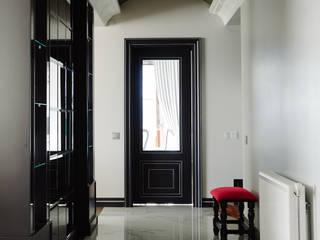 Bilgece Tasarım Modern corridor, hallway & stairs