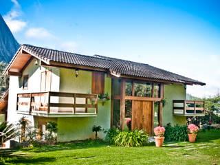 Casa de Montanha - LZ Casas campestres por Carlos Eduardo de Lacerda Arquitetura e Planejamento Campestre