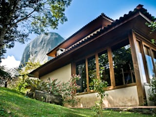 Casa de fazenda - JFL Casas campestres por Carlos Eduardo de Lacerda Arquitetura e Planejamento Campestre