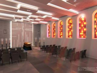 de architekt SZYMON PLESZCZAK - ARCHI PL PRACOWNIA ARCHITEKTURY I WNĘTRZ Moderno
