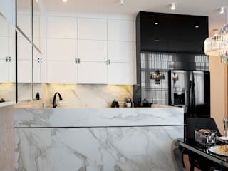 modern Kitchen by CAROLINE'S DESIGN