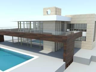 ZENI Casas de estilo moderno de Arquitectura Mediterránea. Mediterranean Passivhaus Concept. 653773806 . Moderno