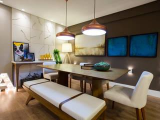 Moderne Esszimmer von Estúdio HL - Arquitetura e Interiores Modern
