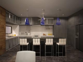 Кухня в стиле модерн от ANGOLO-grado arquitectónico Модерн