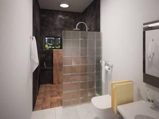 CASA P+A Baños modernos de ANGOLO-grado arquitectónico Moderno