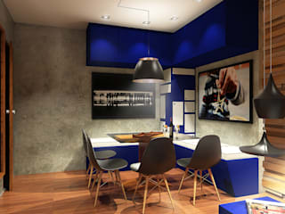 Lar 106: Salas de jantar  por Julian Seifert Arquitetura