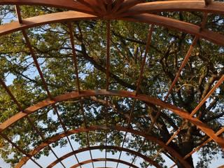 Industrial style garden by Amazon Wooden İnş. Müh. San. Tic. Ltd. Şti. Industrial