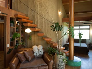 Eclectic style living room by 株式会社グランデザイン一級建築士事務所 Eclectic