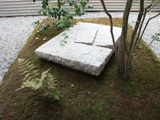 藤原邸: 造園 武が手掛けた庭です。,