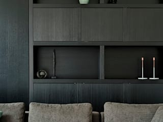 Jolanda Knook interieurvormgeving Living roomCupboards & sideboards Solid Wood Black