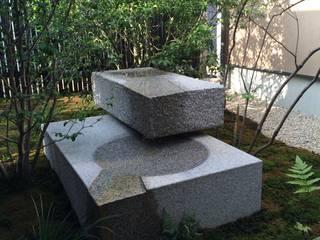 小松邸 モダンな庭 の 造園 武 モダン