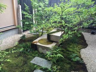 小松邸: 造園 武が手掛けた庭です。,