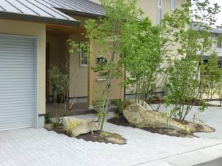 安藤邸: 造園 武が手掛けた庭です。,