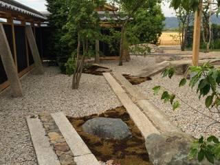 狩山邸: 造園 武が手掛けた庭です。,