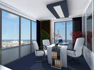Office Renovation, Queensland, Australia by Inspiria Interiors Modern