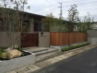 梅村邸: 造園 武が手掛けた庭です。