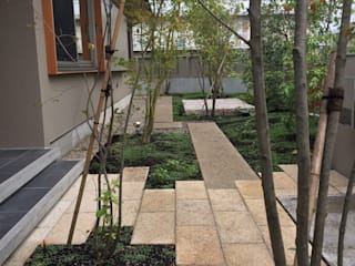 梅村邸: 造園 武が手掛けた庭です。,