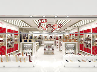 Rage Store, South Africa by Inspiria Interiors Modern