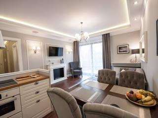 Apartament Rakowicka: styl , w kategorii Jadalnia zaprojektowany przez AgiDesign