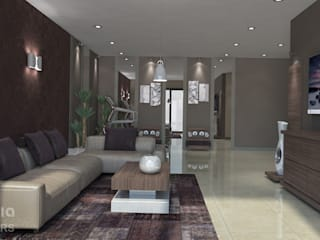 House Renovation, Mexico by Inspiria Interiors Modern