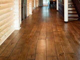 Rustic style walls & floors by Rochene Floors Rustic Wood Wood effect