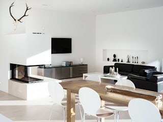 Minimalist living room by Skandella Architektur Innenarchitektur Minimalist