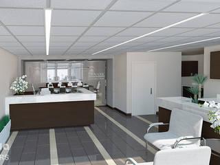 Office reception, USA by Inspiria Interiors Modern