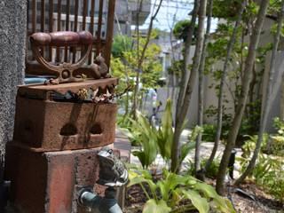 Jardines de estilo  por ATRIUM GARDEN, Asiático