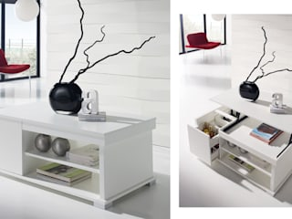 Mesa de centro con práctico botellero:  de estilo  de Merkamueble
