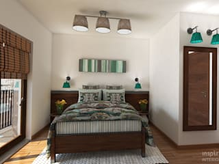 Country style Interior for an apartment, Sofia Country style bedroom by Inspiria Interiors Country
