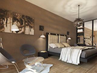 Inspiria Interiors의  침실