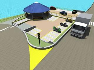 Urbanismo para muelle balseadero de ARCHI DESIGN IBAGUE Rural