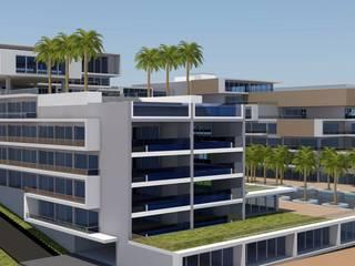 HOTEL CHARME - LUANDA por Gabinete de arquitetura 3D