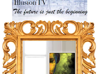 сучасний  by Glassinnovation Illusion Magic MirrorTV, Сучасний