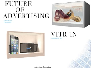 VITR'IN LCD Tranparent: Espaços comerciais  por Glassinnovation - Glass'IN