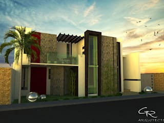 House Paraiso Casas modernas de GT-R Arquitectos Moderno