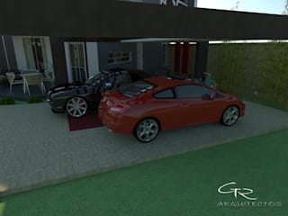 Garagens e arrecadações modernas por GT-R Arquitectos Moderno