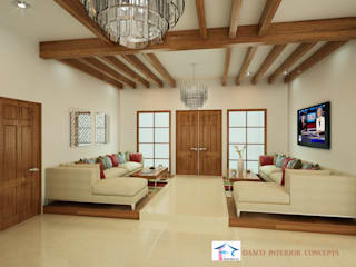 Villa Interior Design by SHEEVIA INTERIOR CONCEPTS
